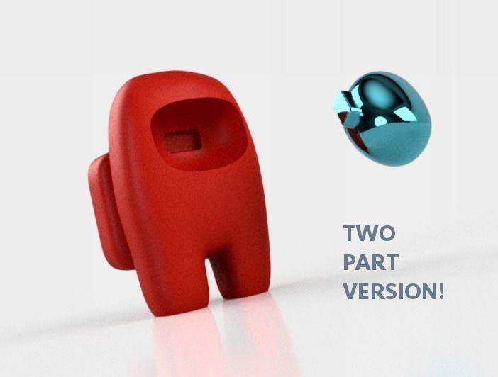 among-us-model-for-3d-printing-3d-model-stl (1).jpg Download STL file Among us model for 3D printing • 3D print model, joz9982