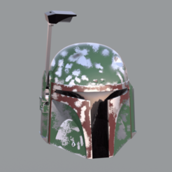 boba2.png Download STL file Boba Fett's Helmet • 3D print model, joz9982