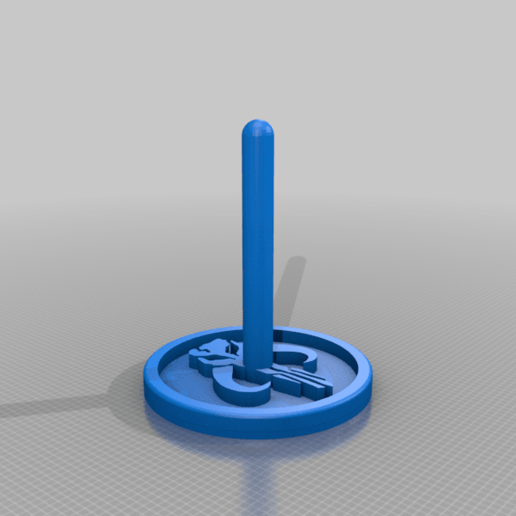 Download free STL file Mythosaure Helmet Stand • 3D print template, kronanworkshop