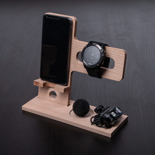 Download free STL file Wooden Organizer , CNC-Woodworking