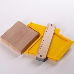 Download free 3D printing models Contour Gauge Duplicator, CNC-Woodworking