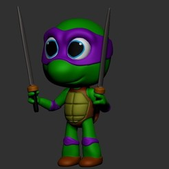 05_imagen.jpg Download free STL file Fighting turtle • 3D print model, JMBM512