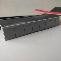 Bordure de quai IMG_20210101_160158622.jpg Télécharger fichier STL gratuit Bordure de quai haut 75 cm H0 • Modèle imprimable en 3D, dpmml