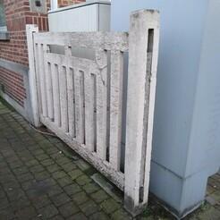 Panneau VDV IMG_20201220_164348141.jpg Download STL file Concrete fence type VDV - H0 • 3D printing design, dpmml
