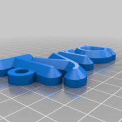 Download free 3D printing templates Tyra, be-ne