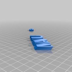 Télécharger fichier imprimante 3D gratuit Manu, be-ne