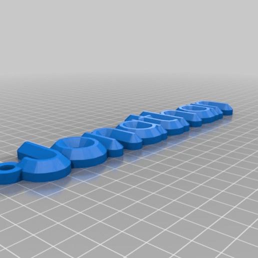 Download free 3D printer designs Jonathan, be-ne