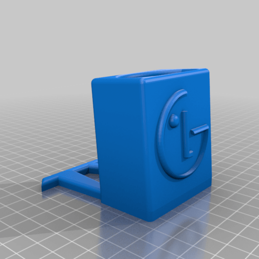 TV_STAND_v1.png Download free STL file TV REMOTE STAND • 3D printing template, B3_3DTECH