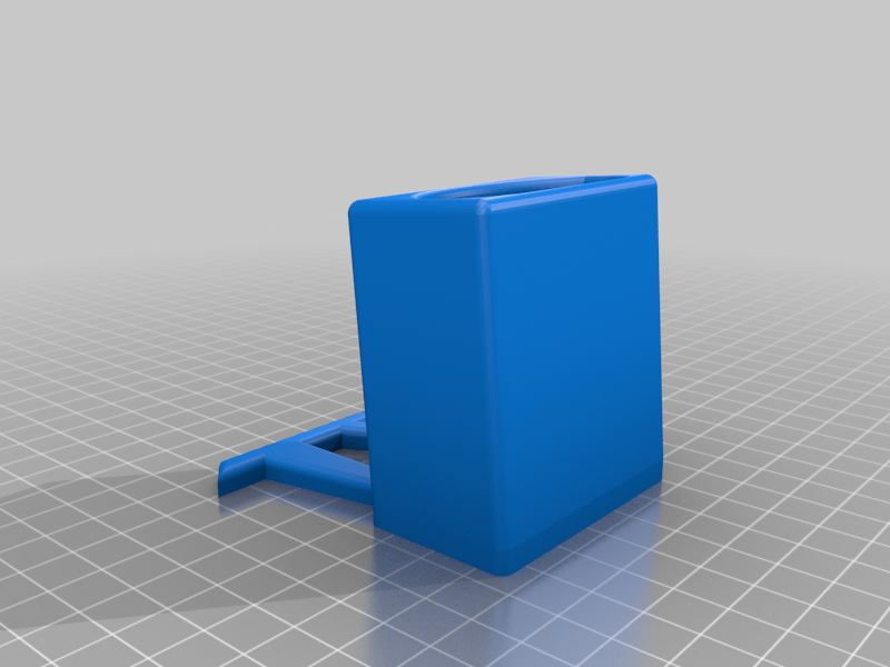 TV_STAND_NO_LOGO.png Download free STL file TV REMOTE STAND • 3D printing template, B3_3DTECH