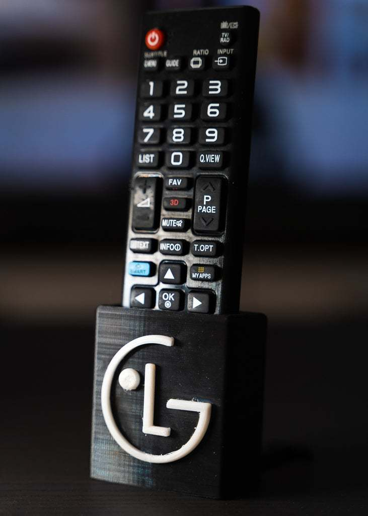 4.jpg Download free STL file TV REMOTE STAND • 3D printing template, B3_3DTECH