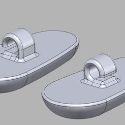 pads.jpg Download free STL file Glasses nose pads • 3D printing design, maw_gomez