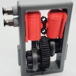 Descargar archivo 3D Propulsión del motor de aire de doble cilindro, tony_912