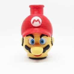 "1607591216709.jpg Download STL file Cachimba/shisha ""mario"" mouthpiece • 3D printer design, rcarrasquel88"