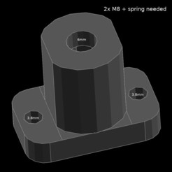 Download free STL files Z axis lead, jaap1917