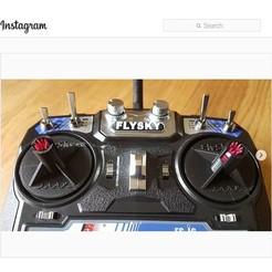 stick-fix.jpg Télécharger fichier STL gratuit FlySky FS-I6 Stabilisateur pour joystick • Plan pour imprimante 3D, jaap1917