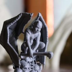 20200905085802_IMG_5188.JPG Télécharger fichier STL SWAMPS OF MORDHELL - Démon chérubin • Design pour imprimante 3D, TeamSausageDesign
