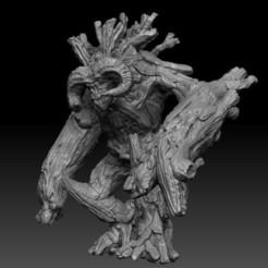 golem11.JPG Télécharger fichier STL SWAMPS OF MORDHELL - Monstre de Golem de la nature • Objet imprimable en 3D, TeamSausageDesign
