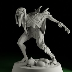 baba01.jpg Download STL file SWAMPS OF MORDHELL - Baba Witch • 3D printing object, TeamSausageDesign