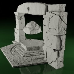 Altar01.jpg Download STL file Swamps of Mordhell - The Full Set • 3D print model, TeamSausageDesign