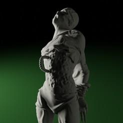 SkinnyFollower01.jpg Télécharger fichier STL SWAMPS OF MORDHELL - Suiveur maigre / Personnage masculin • Plan pour imprimante 3D, TeamSausageDesign