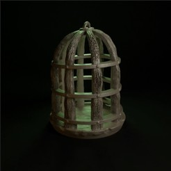 cage.jpg Download STL file SWAMPS OF MORDHELL - Cage • Model to 3D print, TeamSausageDesign