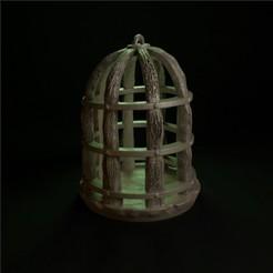 cage.jpg Télécharger fichier STL SWAMPS DE MORDHELL - Cage • Plan pour impression 3D, TeamSausageDesign