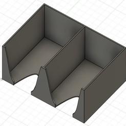 Pioche2cartes.jpg Télécharger fichier STL gratuit Double Porte Cartes standard • Plan pour impression 3D, ArnaudC88