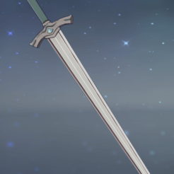 2020-10-22 (7).png Download STL file Genshin Impact Blade Blunt Sword Cosplay • Design to 3D print, vextructor
