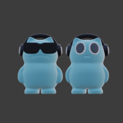2021-01-04 (24).png Download STL file Beatbox Cats • 3D printer object, vextructor