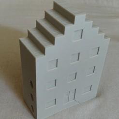 Housing.jpg Télécharger fichier STL Capteur de température intelligent Aqara xiaomi abritant Amsterdam • Modèle pour imprimante 3D, Tinnman