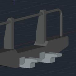 bullbar belakang.PNG Download STL file Front Bumper MN90 99 110 99s • Design to 3D print, zulmasri16