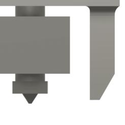 Hotend Nozzle.png Télécharger fichier STL gratuit Davinci Pro 1.0 Hotend E3D avec refroidisseur de pièces • Plan pour imprimante 3D, Toxicant