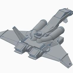tiberius7.jpg Download free STL file Tiberius Dropship • 3D printing template, Voltage3d