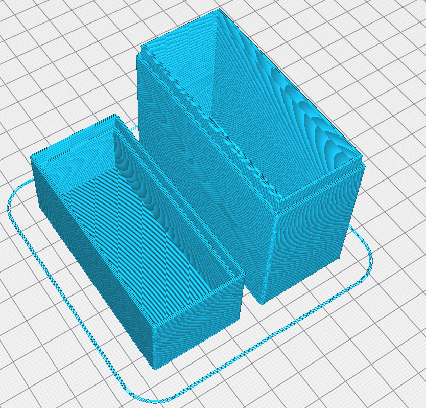 Gcode Cura.PNG Download free STL file Simple storage box • 3D printable design, pc_gyver