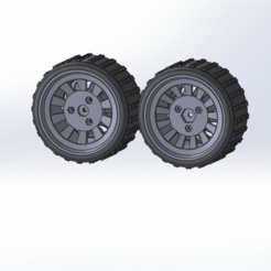 Download free STL file Wheel for Rc Car Hexagon 12 diameter 9cm • 3D printing template, TB3D