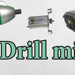 Download free 3D print files drill 180, TB3D