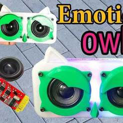 Download free 3D printing designs bluetooth speaker Owl, TB3D