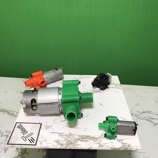 Download free STL file Water Pumps 390 • 3D printable design, TB3D