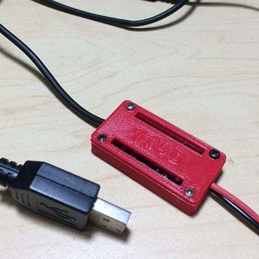 3.jpg Télécharger fichier STL gratuit Protection du boîtier Pile au lithium Module de chargement • Objet à imprimer en 3D, TB3D