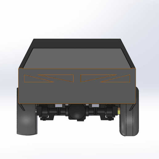 cyber_2.png Download free STL file RC car Cybertruck • 3D printing object, TB3D