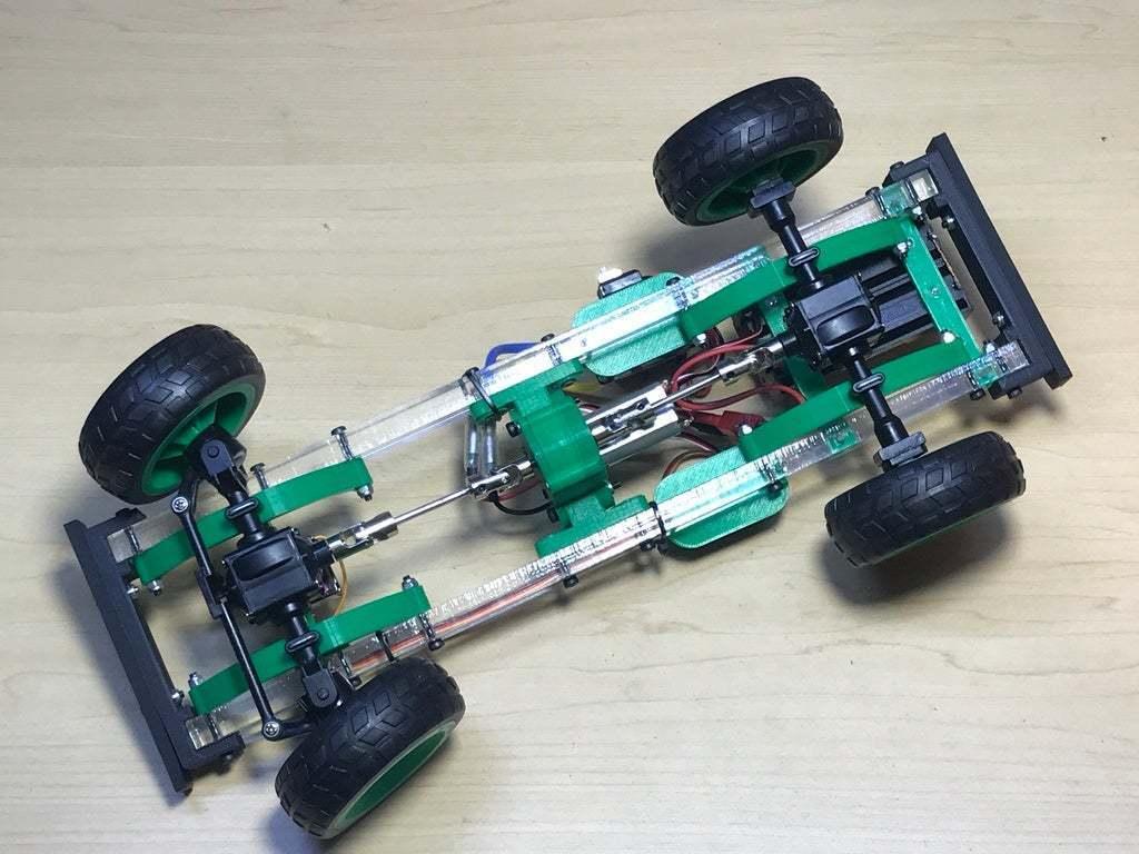 2020_06_10_20_07_IMG_9085.JPG Download free STL file RC car Cybertruck • 3D printing object, TB3D