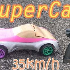 Download free STL file RC SuperCar Drifting • 3D printer model, TB3D