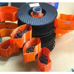 1a.jpg Download free STL file filament spools screw box • 3D printable template, TB3D