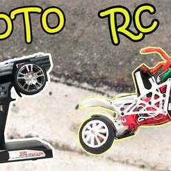 Descargar diseños 3D gratis Motocicleta RC, TB3D