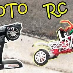 a1.jpg Download free STL file Motobike RC • 3D printing design, TB3D