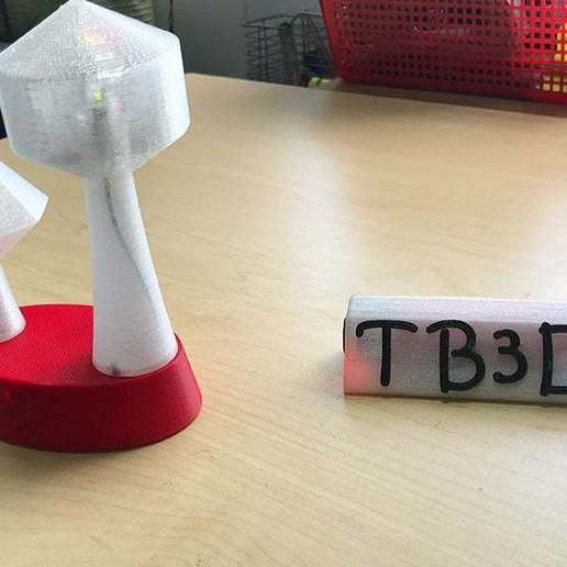 a4.jpg Download free STL file Name tag with Leds and alphabet • 3D printing object, TB3D