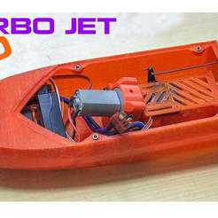 11.jpg Télécharger fichier STL gratuit Mini moteur de Jet Boat 180 body V2 • Plan imprimable en 3D, TB3D