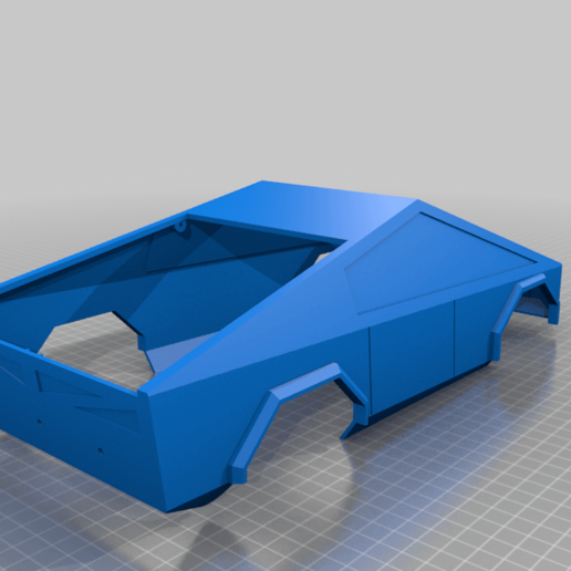 case.png Download free STL file RC car Cybertruck • 3D printing object, TB3D