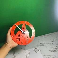 Download free STL file clock rose • 3D printing object, TB3D