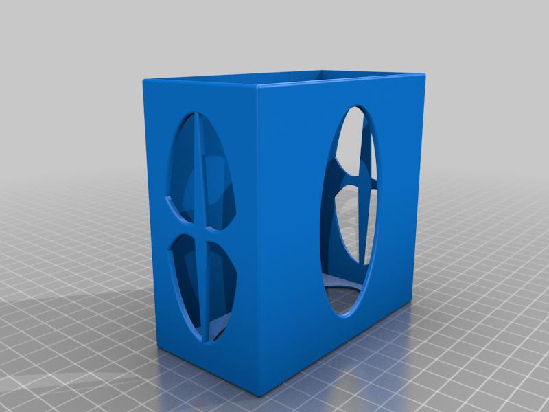 box.png Download free STL file Resistor Box or Tool box • 3D printing template, TB3D